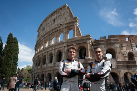 Nissan e.dams prepares for the Italian round of the ABB FIA Formula E Championship by visiting the Colosseum, Circus Maximus and more....