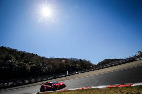 Action from the opening round of the 2019 Super GT Championship for Nissan in Okayama.