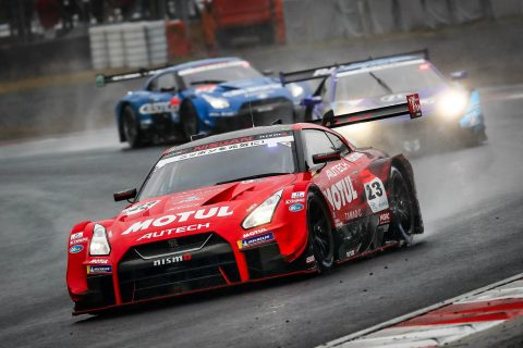 Strong form from Nissan in rained-out Super GT race