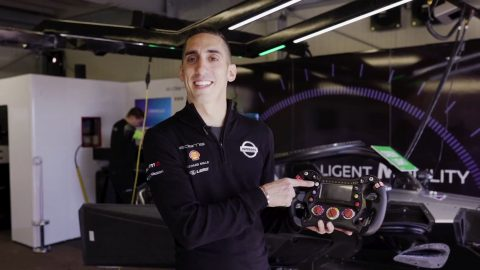 On the button with Buemi and Rowland