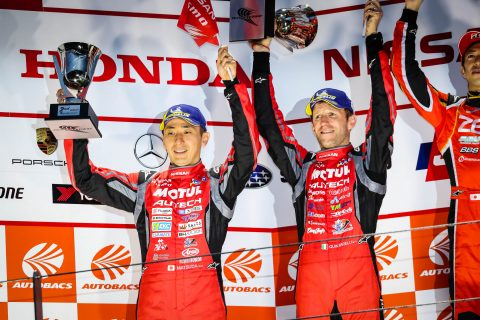 Nissan duo take Super GT championship lead
