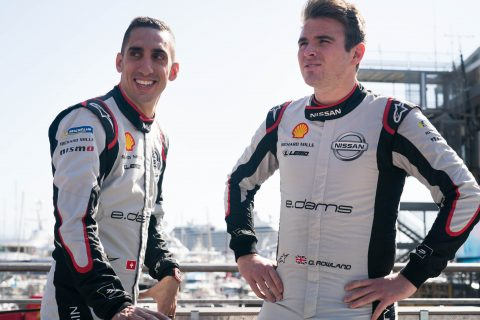 The Nissan e.dams driver Sebastien Buemi prepares to do battle at the world's most famous street circuit for the Monaco E-Prix.
