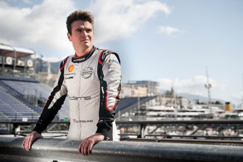 The Nissan e.dams driver Oliver Rowland prepares to do battle at the world's most famous street circuit for the Monaco E-Prix.