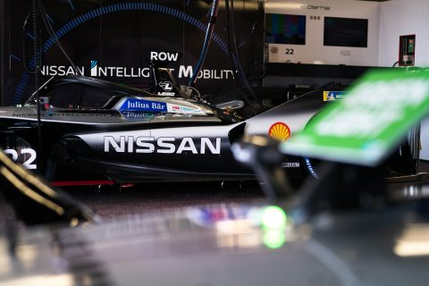 The Nissan e.dams team prepares to do battle at the world's most famous street circuit for the Monaco E-Prix.
