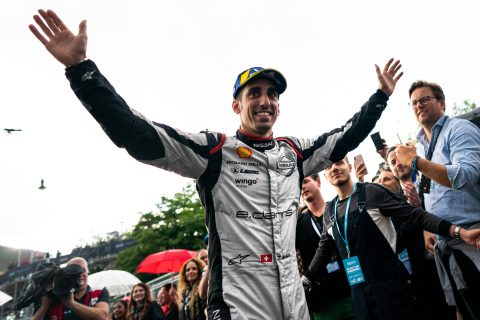 Nissan e.dams' Buemi takes podium at home race