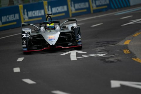 Nissan e.dams drivers Sebastien Buemi and Oliver Rowland hit the track for the first time for the #SwissEPrix shakedown in Bern.