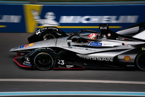 Nissan e.dams to complete first Formula E season in New York