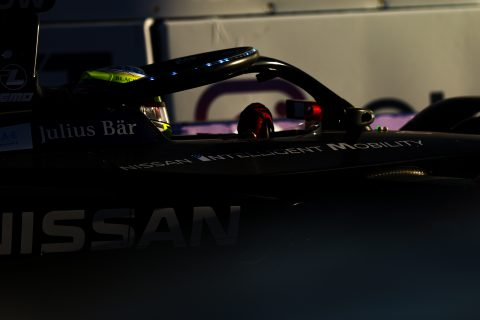 | Driver: Oliver Rowland| Team: Nissan e.dams| Number: 22| Car: IM02|| Photographer: Shivraj Gohil| Event: Ad Diriyah E-Prix| Circuit: Ad Diriyah Circuit| Location: Riyadh| Series: FIA Formula E| Season: 2019-2020| Country: SA|| Session: FP1|