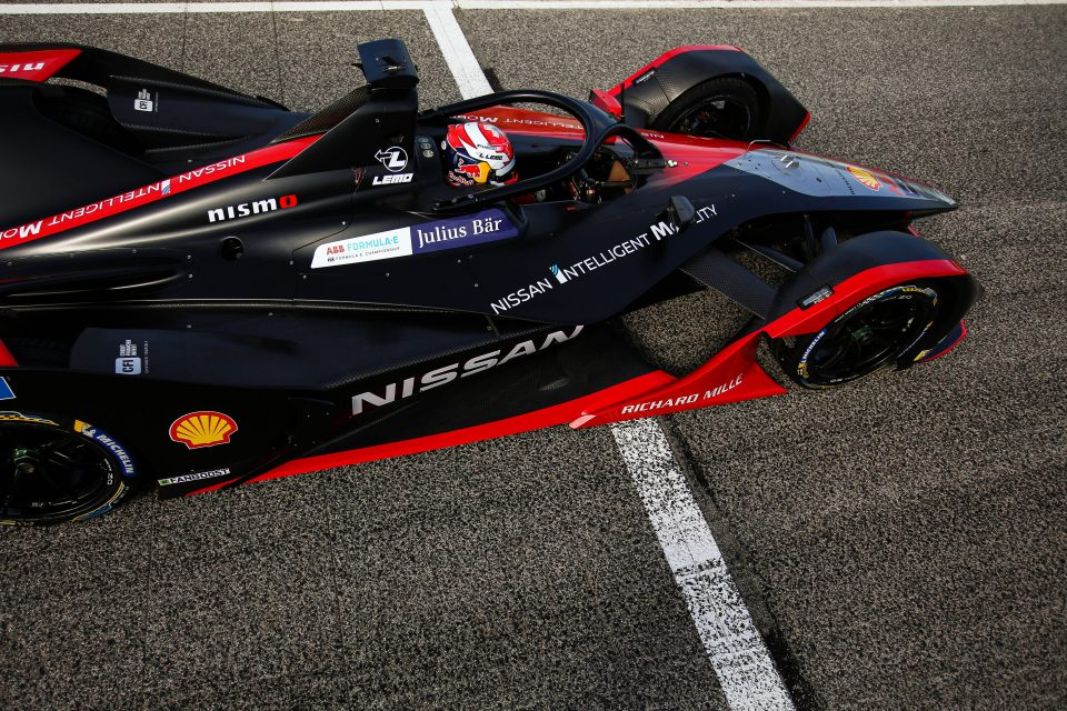 CFI partners with Nissan e.dams Formula E team