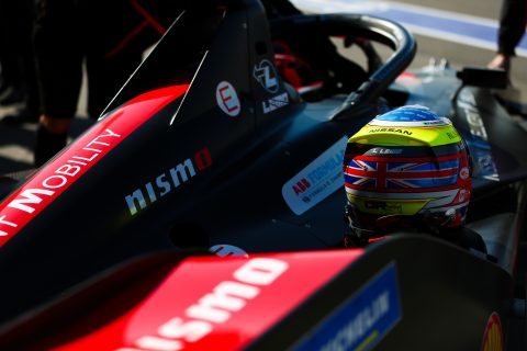| Team: Nissan e.dams| Car: IM02|| Photographer: Shivraj Gohil| Event: Ad Diriyah E-Prix| Circuit: Ad Diriyah Circuit| Location: Riyadh| Series: FIA Formula E| Season: 2019-2020| Country: SA|| Team: Nissan e.dams| Car: IM02|