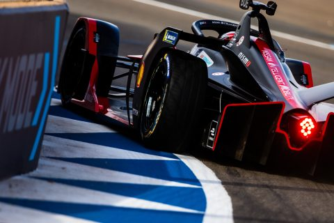 | Photographer: Shivraj Gohil| Event: Marrakesh E-Prix| Circuit: Circuit International Automobile Mouley el Hassan| Location: Marrakesh| Series: FIA Formula E| Season: 2019-2020| Country: Morocco|| Driver: Sebastien Buemi| Team: Nissan e.dams| Number: 23| Car: IM02|