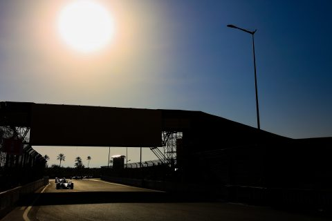 | Photographer: Shivraj Gohil| Event: Marrakesh E-Prix| Circuit: Circuit International Automobile Mouley el Hassan| Location: Marrakesh| Series: FIA Formula E| Season: 2019-2020| Country: Morocco|| Session: Test|| Driver: Jann Mardenborough| Team: Nissan e.dams| Car: IM02|