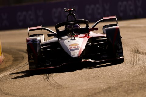 | Driver: Jann Mardenborough| Team: Nissan e.dams| Car: IM02| | Photographer: Shivraj Gohil| Event: Marrakesh E-Prix| Circuit: Circuit International Automobile Mouley el Hassan| Location: Marrakesh| Series: FIA Formula E| Season: 2019-2020| Country: Morocco|| Session: Test|
