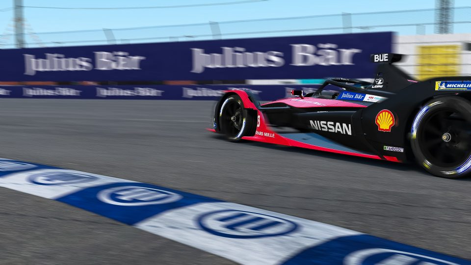 Nissan e.dams in action-packed virtual Formula E race in support of UNICEF
