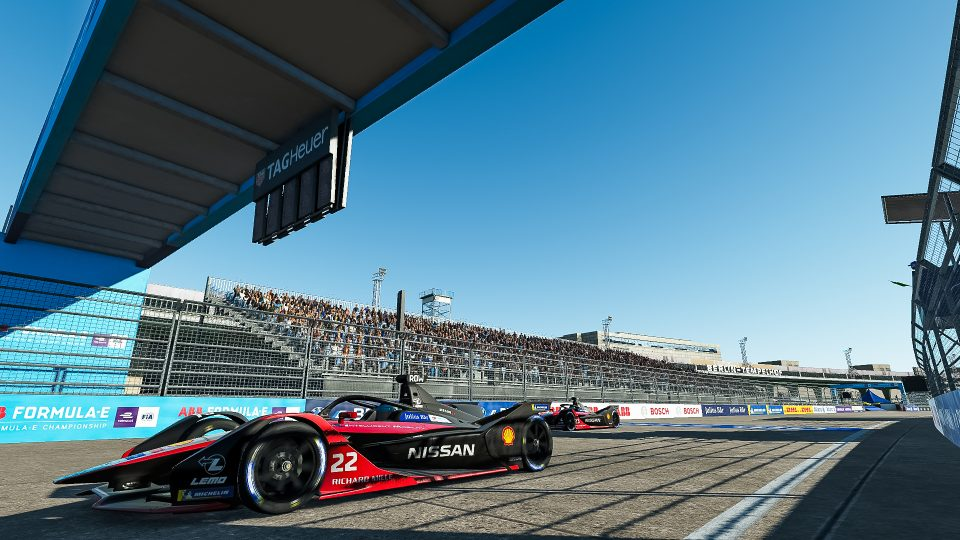 Nissan e.dams wins final round of ABB Formula E Race at Home Challenge