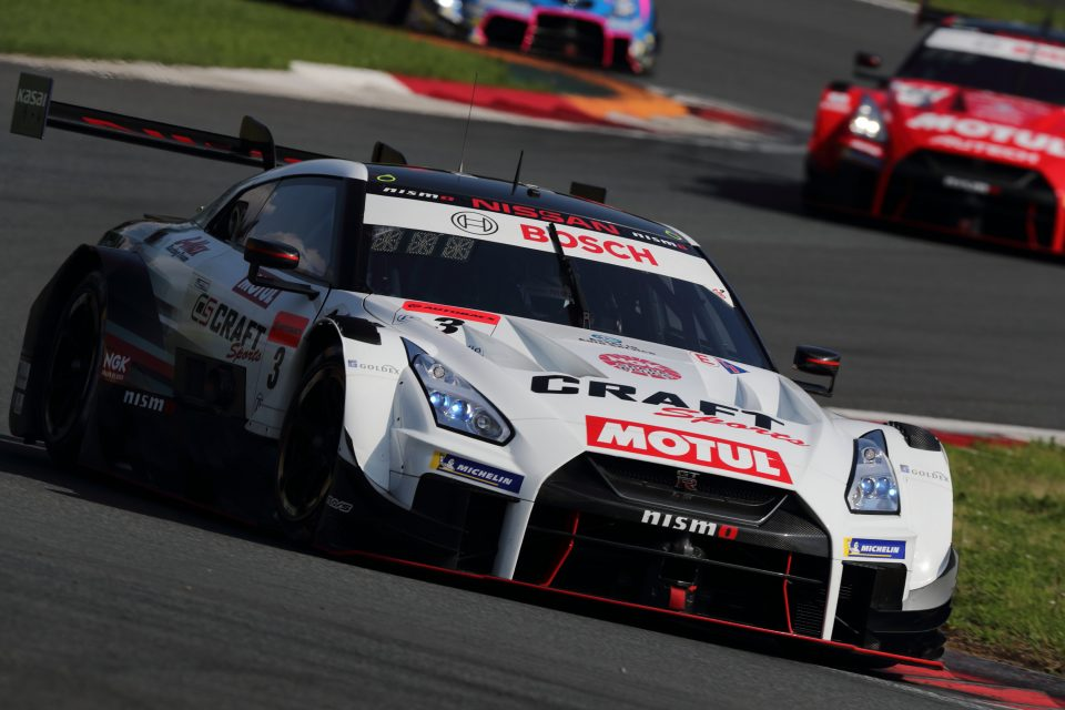 Top 10 finishes for Nissan at Fuji season opener