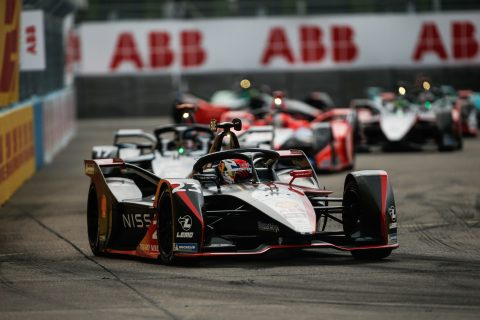 Nissan e.dams takes second podium in Formula E Berlin season finale series