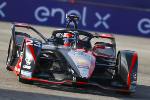 Nissan e.dams takes podium in first Formula E Berlin  double-header