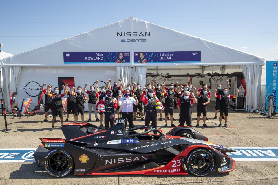 Nissan e.dams powers to second place in Formula E  teams championship