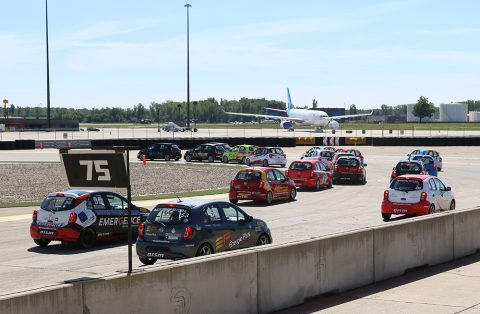 Kevin King and Jesse Lazare take home Nissan Micra Cup victories