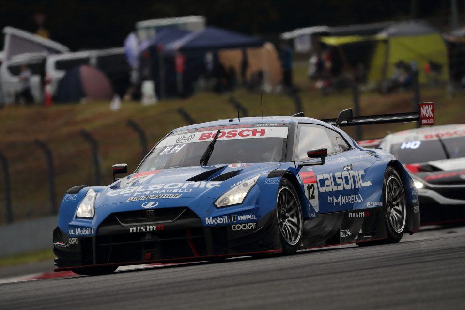 CALSONIC IMPUL GT-R finishes 8th after a challenging round 5 at Fuji