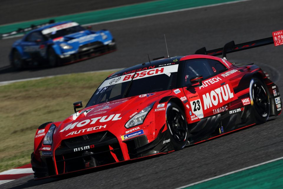 GT-R grabs 1-2 finish at Suzuka