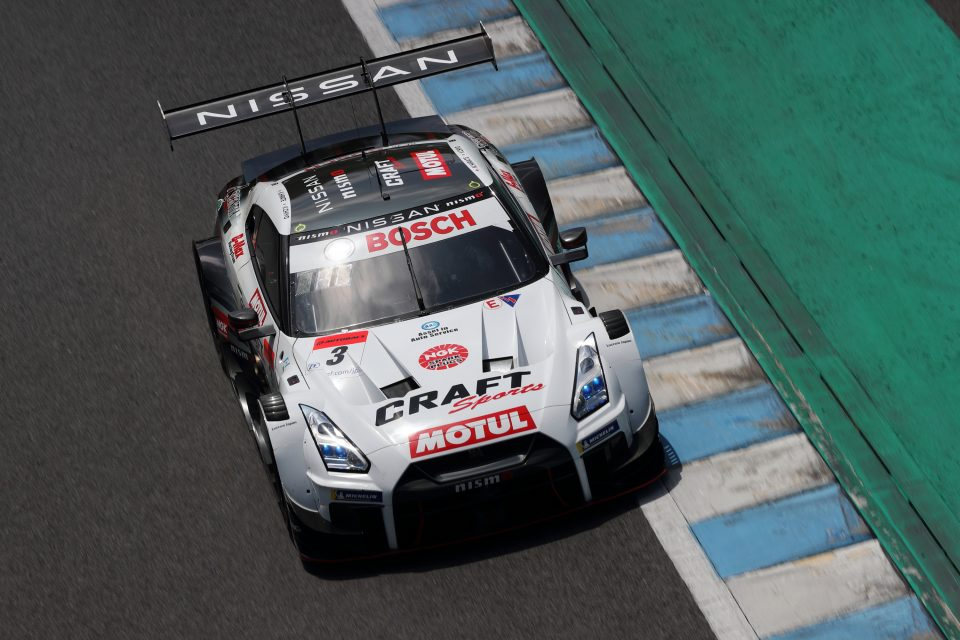 #3 CRAFTSPORTS MOTUL GT-R finishes 6th in sweltering Motegi race