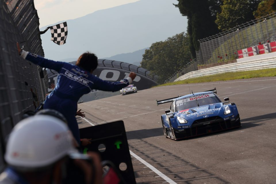 #12 Calsonic IMPUL GT-R grabs first win of the season